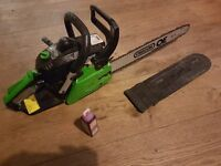Oregon 37.2cc chainsaw + 1 stihl oil