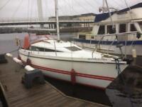 Pegasus 8 meter yacht twin bilge keel