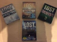 Lost Seasons 1-4 DVD Boxsets