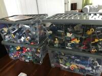 Lego in boxes of around 2.5kg or buy the Lot