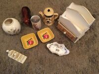 Vintage job lot shabby chic style items car boot