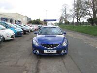 MAZDA 6 STUNNING FAMILY CAR IN MET BLUE