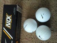 Brand new golf balls
