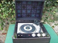 retro dansette bermuda record player