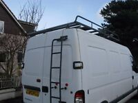 Heavy duty roof rack and ladder