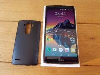 LG G4 - Sim Free - Black Leather **Fantastic Conition & under Warranty**