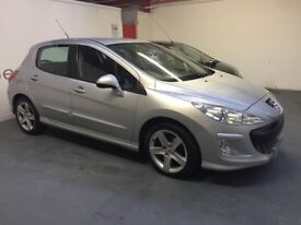 Immaculate 57plate Peugeot 308 1.6 diesel sport mot 30th October 2018 cheap road tax and high mpg