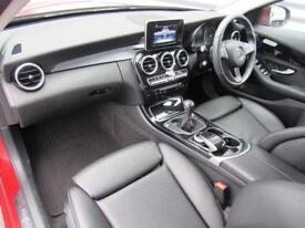 Mercedes-Benz C Class C220 D SE EXECUTIVE (red) 2016-02-12