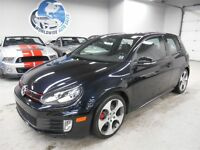 2012 Volkswagen GTI 6 SPEED! LEATHER! SUNROOF! FINANCING AVAILAB