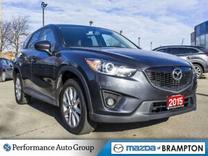 2015 Mazda CX-5 GT. ROOF. CAMERA. LEATHER. BOSE AUDIO