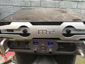 Pro Sound PA amplifier 1600
