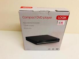 Logik DVD player with remote NEW
