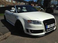 AUDI RS4 CONVERTIBLE 2006 PEARL WHITE