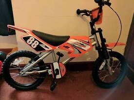 Kids bike brand new unwanted present
