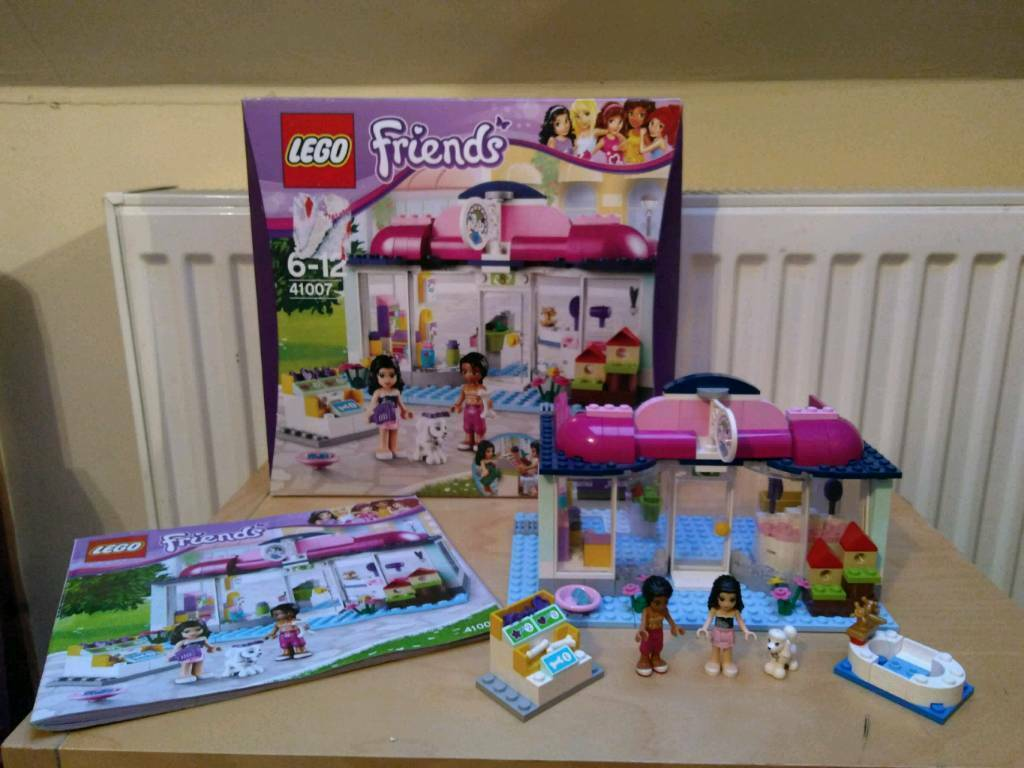 Sold Pending Collection Lego Friends Heartlake Pet Salon 41007 In