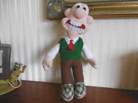 Wallace and Gromet cuddly toy