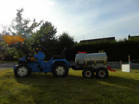 Outdoor Toy Tractors, Trailers, Digger, Wheelbarrow, Slurry Tanker, Animals and Electric Quad