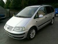 06 VW Sharan 1.9 TDI Diesel 7 Seater Full Mot and service history (can be viewed inside anytime)