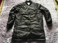 Lovely ladies black spring/ rain coat nice and warm size 8-10 used £5