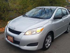 2010 Toyota Matrix AUTO,MINT,LOW KM,P.GROUP,CERTIFIED $7975