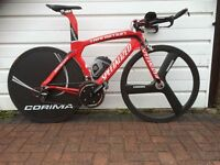Specialized Transition Pro TT bike with Wheels
