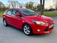 2012 Ford Focus 1.6 TDCI Zetec **£20 TAX MINT CAR FSH**
