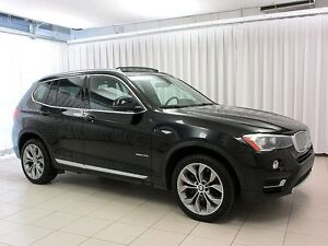 2016 BMW X3 28i x-DRIVE AWD w/ NAV, PANO ROOF & HEAD UP DISPLA
