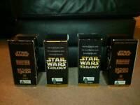 Vintage Star Wars VHS box sets £20.00 Can Post.