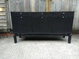 Black sideboard cabinet / TV unit