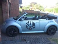 Vw beetle cabriolet convertible 1.9 tdi 2004