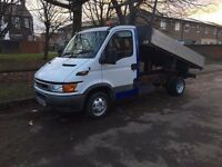iveco daily tipper 3.5 tones low millage