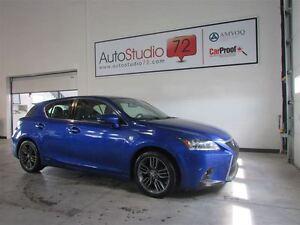 2014 Lexus CT 200h **HYBRID**TOIT**CUIR**FINANCEMENT 100%**
