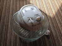 Halogen Air Fryer with broken bulb, Oven Electric 12 Litre 13inch/33cm diameter