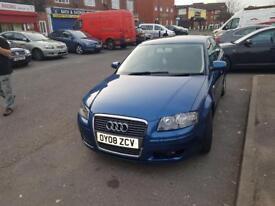 Audi A3 2008 1.9TDI 5dr Blue
