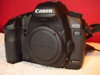 Canon 5D Mk2 body - fantastic full-frame Professional camera