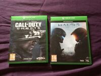 2 x Xbox one games for sale