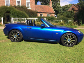 MAZDA MX5, 2.0L 2006 WINNING BLUE , SPORT Option PACK.