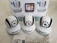 MOTOROLA MBP36 Additional Spare Baby Monitor Cameras x 3