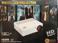 BRAND NEW,,EUG X660+,,2800-LUMENS,,Native Resolution:1280x720,HD Projector