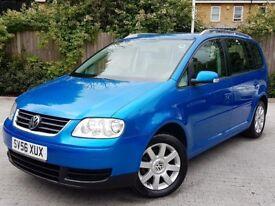 2006 VW TOURAN 1.9 TDI SE SPORT PACK 7 SEATER MANUAL 6 SPEED