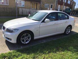 White BMW 3 Series 316 Diesel 316D 2011 £30 Tax 69mpg