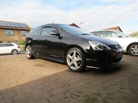 2006 Black Honda Civic 1.6 Sport