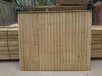 Vertilap Fence Panels 6x6 £22.00 Each