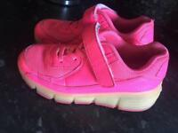 Light up Heely style shoes size 2