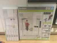 Lindam sure shut axis pressure fitted safety gate AND extension to fit 104-145cm