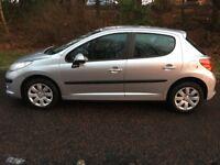 2008 Peugeot 207S 5 Door, ONLY 63,000 miles, 12 months MOT