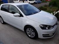 2015 64 VW Golf 1.4 SE NAV TSi DSG - Not even broken in; under 5,000 miles pa!