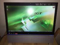 Acer Aspire Z5101 - 23 Inch HD Touchscreen Multimedia PC - 3GB RAM - 1TB HD - 9200 GeForce