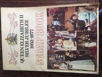 Queen Elizabeth Silver Jubilee 1952-1977 scrap book