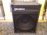 "Carlsbro a-150x 15"" bass bin speaker"